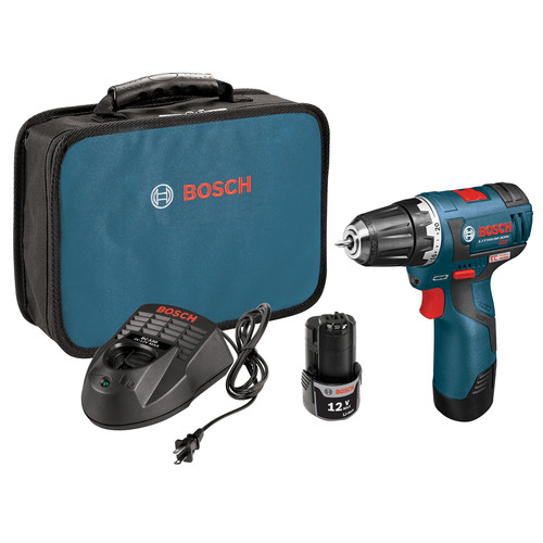 Bosch PS32-02 12V Max Lithium-Ion 3/8 in. Brushless Drill Driver Kit
