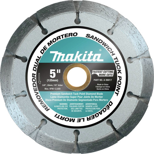 Makita A-96017 5 in. General Purpose Tuckpointing Diamond Blade