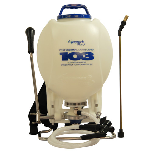 Sprayers Plus 103 4 Gallon Professional Backpack Sprayer with Viton O-Ring & Seals image number 0