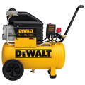 Factory Reconditioned Dewalt D55166R 6 Gallon Wheeled Horizontal Air Compressor