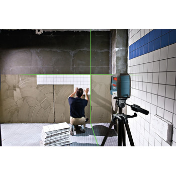Bosch GLL40-20G Green-Beam Self-Leveling Cross-Line Laser image number 6