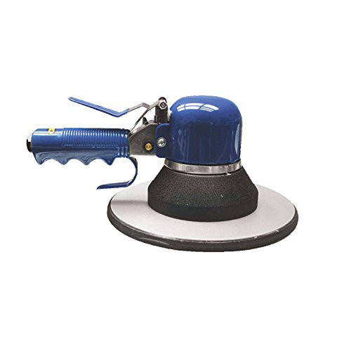 Astro Pneumatic 3008 8 in. Rand Orbital Sander with Pad image number 0