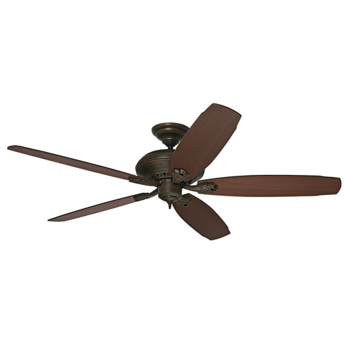 Hunter 55046 Headley 64 in. Traditional Provence Crackle Cocoa Indoor Ceiling Fan