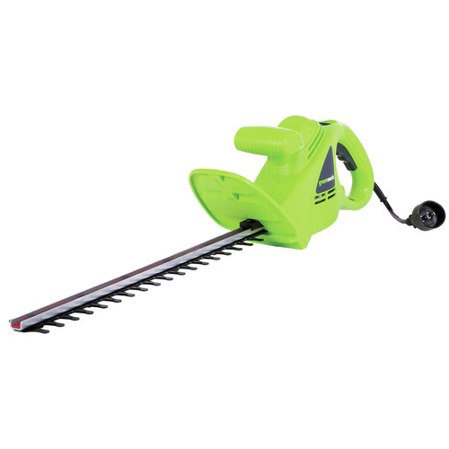 Greenworks 22102 2.7 Amp 18 in. Dual Action Electric Hedge Trimmer