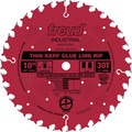 Freud LM75R010 10 in. 30 Tooth Thin Kerf Glue Line Rip Saw Blade