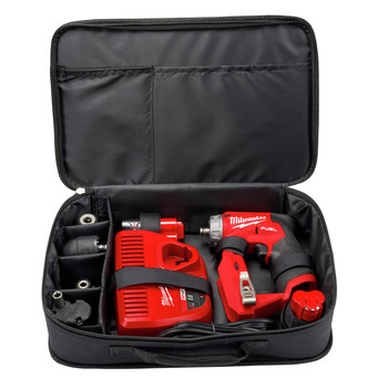 Milwaukee 2505-22 M12 FUEL Lithium-Ion 3/8 in. Cordless Installation Drill Driver Kit (2 Ah) image number 15
