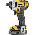 Factory Reconditioned Dewalt DCF885C2R 20V MAX Lithium-Ion 1/4 in. Cordless Impact Driver Kit (1.5 Ah) image number 1