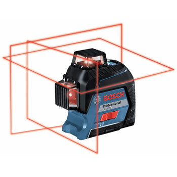 Bosch GLL3-300 360 Degrees Three-Plane Leveling and Alignment-Line Laser image number 0