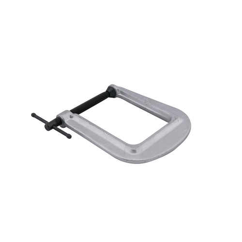 Wilton 42525 Deep-Reach Carriage C-Clamp, 0 in. - 2-1/2 in. Jaw Opening, 4 in. Throat Depth