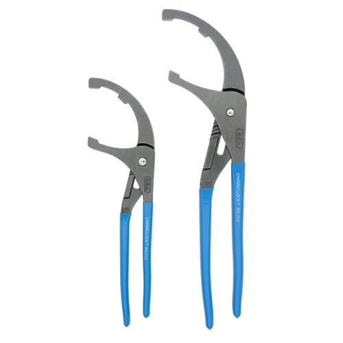 Channellock OF1 2-Piece 12 in. & 15 in. Oil Filter/PVC Pliers Set