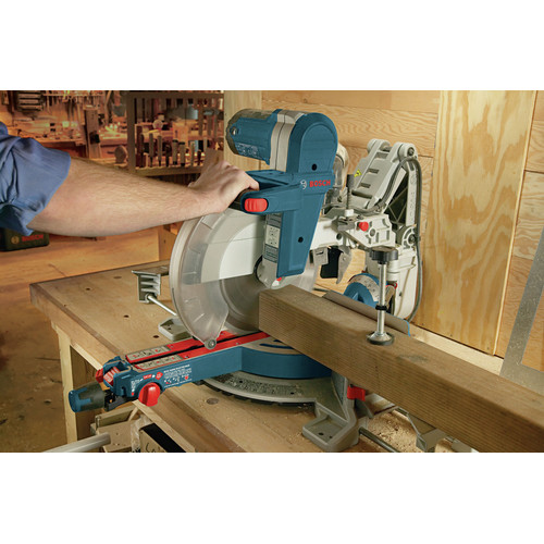 Factory Reconditioned Bosch GCM12SD-RT 12 in. Dual-Bevel Glide Miter Saw image number 16