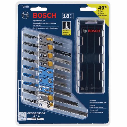 Bosch t18chcl 18 piece t shank wood and metal cutting jig saw blade set keyboard keysfo Choice Image