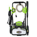 Factory Reconditioned Greenworks 5101402-RC 1800-PSI 1.1-Gallon-GPM Cold Water Electric Pressure Washer-reconitioned