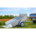 Detail K2 MMT5X7G 5 ft. x 7 ft. Multi Purpose Utility Trailer Kits (Galvanized) image number 4