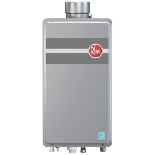Rheem Rtg 95dvln 1 Direct Vent Low Nox Natural Gas Tankless Water Heater For 2 3 Bathroom Homes
