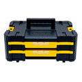 Dewalt DWST17804 TSTAK-4 2-Drawer Stackable Organizer