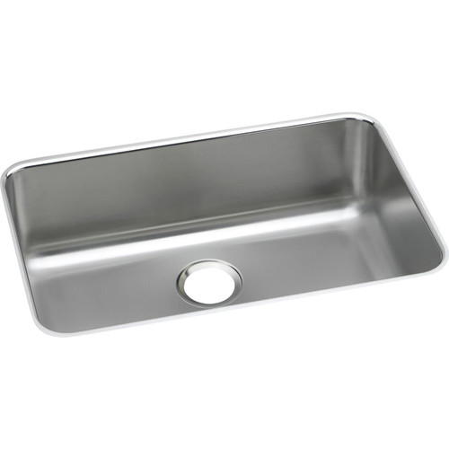 Elkay ELUH2416 Lustertone Undermount 26-1/2 in. x 18-1/2 in. Single Bowl Sink (Stainless Steel)