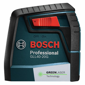 Bosch GLL40-20G Green-Beam Self-Leveling Cross-Line Laser image number 1