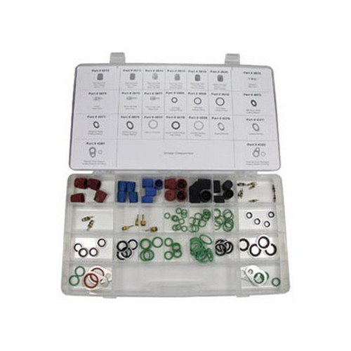 FJC 4463 Heavy Duty Truck A/C Service Assortment