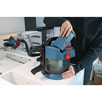 Bosch GAS18V-3N 18V 2.6 Gal. Wet/Dry Vacuum Cleaner with HEPA Filter (Tool Only) image number 10