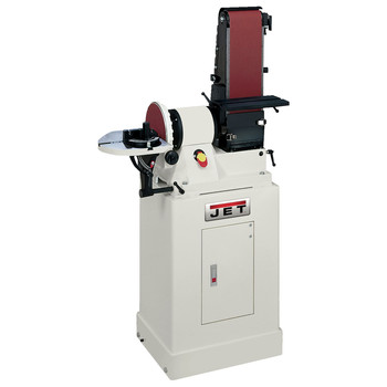 JET JSG-96CS 6 in. x 48 in. Belt / 9 in. Disc Combination Sander with Closed Stand