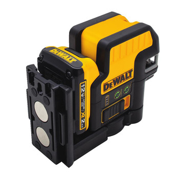 Dewalt DW0822LG 12V MAX Cordless Lithium-Ion 2-Spot Green Cross Line Laser image number 3