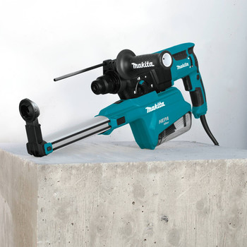 Makita HR2651 7 Amp 1 in. Pistol-Grip Rotary Hammer with HEPA Extractor image number 5