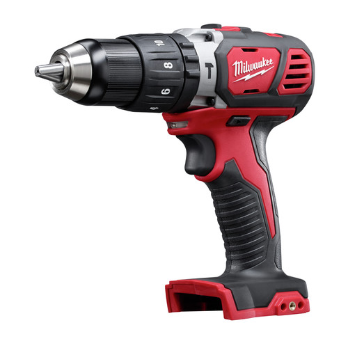 Milwaukee 2607-20 M18 18V Cordless Lithium-Ion XC 1/2 in. Compact Hammer Drill Driver (Bare Tool)