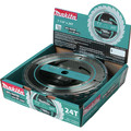 Makita A-94839-10 7-1/4 in. 24 Tooth Carbide-Tipped Framing Saw Blade (10-Pack)