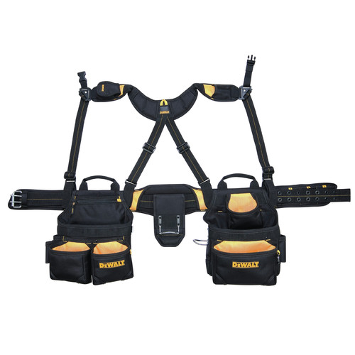 Dewalt DG5617 20-Pocket Pro Framer's Combo Apron and Yoke Style Suspenders