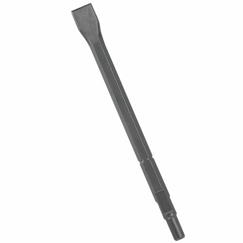 Bosch HS1812 Round Hex and Spline Hammer Steel 18 in. Flat Chisel