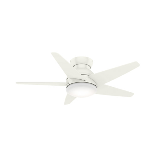 Casablanca 59350 44 in. Isotope Fresh White Ceiling Fan with Light and Wall Control