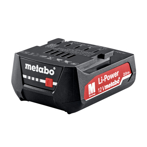 Metabo 601037620 BS 12 Quick 12V Lithium-Ion 3/8 in. Cordless Drill Driver Kit (2 Ah) image number 3