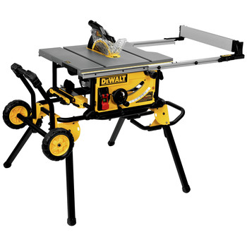 Dewalt DWE7491RS 10 in. 15 Amp  Site-Pro Compact Jobsite Table Saw with Rolling Stand