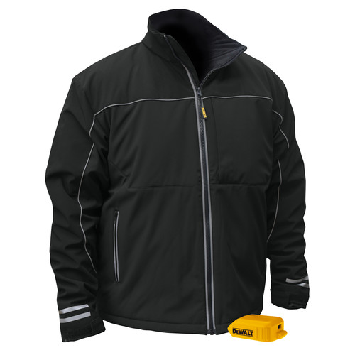 Dewalt DCHJ072B-M 20V MAX Li-Ion G2 Soft Shell Heated Work Jacket (Jacket Only) - Medium image number 0