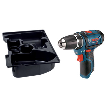 Bosch PS31BN 12V Max Lithium-Ion 3/8 in. Cordless Drill Driver with Exact-Fit Tool Insert Tray (Tool Only) image number 1