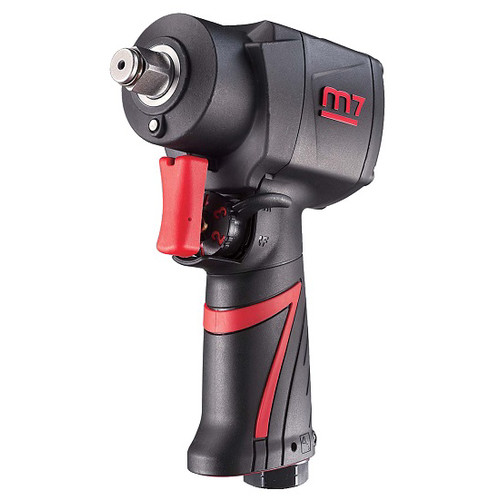m7 Mighty Seven NC-4232Q 1/2 in. Composite Twin Hammer Mini Air Impact Wrench