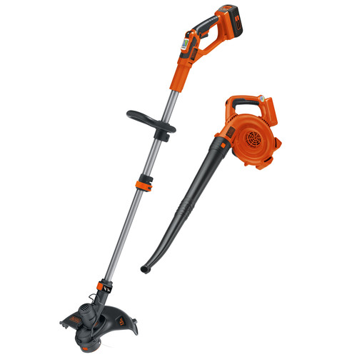Black & Decker LCC140 40V MAX Cordless Lithium-Ion String Trimmer and Sweeper Kit