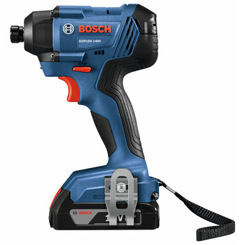 Bosch GXL18V-26B22 18V 2-Tool Combo Kit with 1/2 In. Compact Drill/Driver and 1/4 In. Hex Impact Driver image number 2
