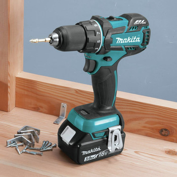Factory Reconditioned Makita XFD061-R 18V LXT Lithium-Ion Brushless Compact 1/2 in. Cordless Drill Driver Kit (3 Ah) image number 4