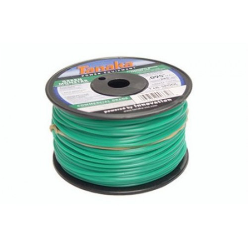 Tanaka 746592 0.130 in. x 285 ft. Green Monster Commercial Grade Trimmer Line Spool (1 lb.)