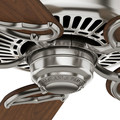 Casablanca 59511 54 in. Traditional Panama DC Brushed Nickel Walnut Indoor Ceiling Fan image number 7