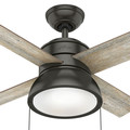 Hunter 59387 36 in. Loki Ceiling Fan with Light (Noble Bronze) image number 5