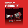 Milwaukee 2855P-22 M18 FUEL Lithium-Ion Brushless Compact 1/2 in. Cordless Impact Wrench Kit with Pin Detent (5 Ah) image number 9
