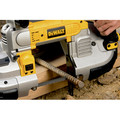 Factory Reconditioned Dewalt DWM120R Heavy Duty Deep Cut Portable Band Saw image number 14