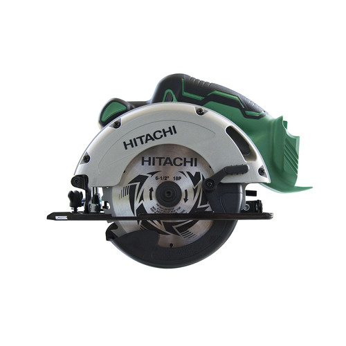 hitachi reciprocating saw. hitachi c18dglp4 18v cordless lithium-ion 6-1/2 in. circular saw with led (bare tool) reciprocating