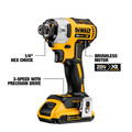 Dewalt DCK483D2 20V MAX XR Brushless Compact Lithium-Ion Cordless 4-Tool Combo Kit image number 2