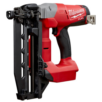 Milwaukee 2741-20 M18 FUEL Cordless Lithium-Ion 16-Gauge Brushless Straight Finish Nailer (Tool Only) image number 1