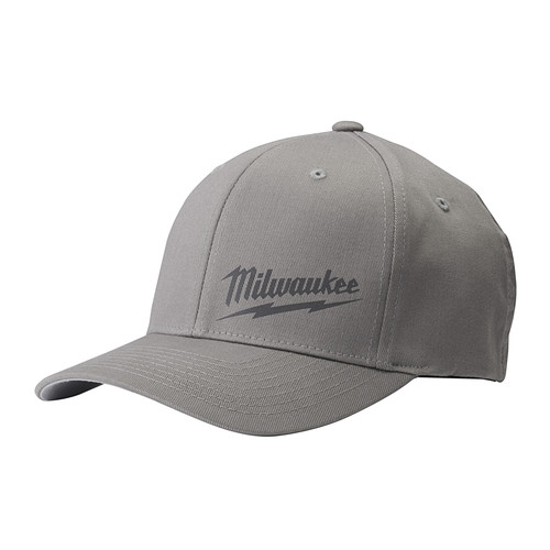Milwaukee 504G-LXL FLEXFIT Fitted Hat - Gray, Large/X-Large image number 0