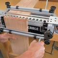 Porter-Cable 4216 12 in. Deluxe Dovetail Jig Combination Kit image number 10